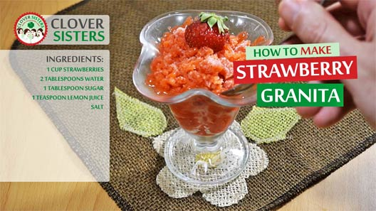 strawberry granita recipe