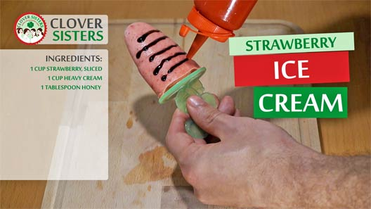 strawberry ice lolly recipe