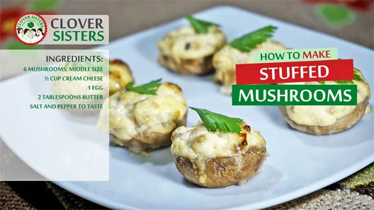 Mushrooms stuffed cream cheese recipe