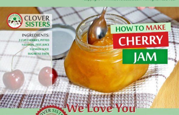 sweet cherry jam recipe