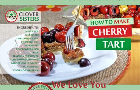 sweet cherry tart recipe
