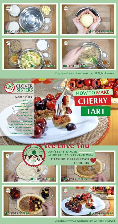 sweet cherry tart recipe