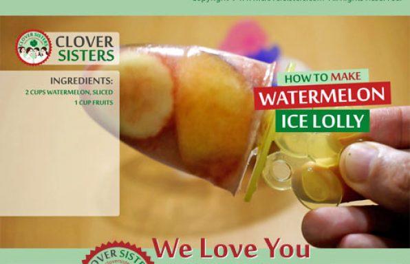 watermelon ice lolly recipe