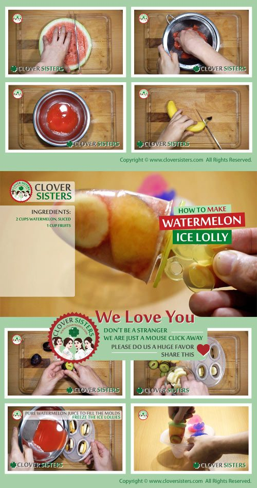 watermelon ice lolly recipe