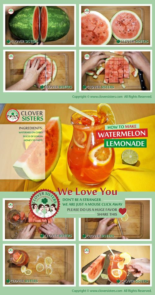 watermelon lemonade hydration immunity level boosting remedy