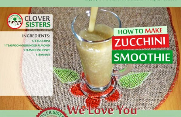 zucchini smoothie recipe