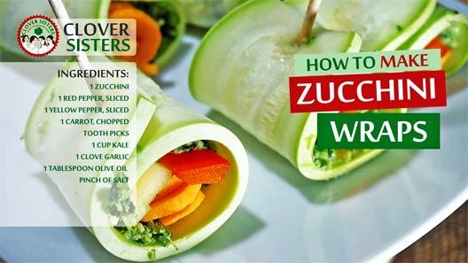 zucchini wraps recipe